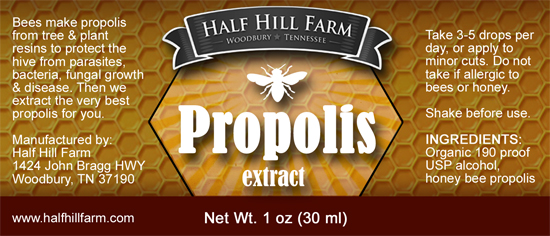 Half Hill Farm Propolis Extract